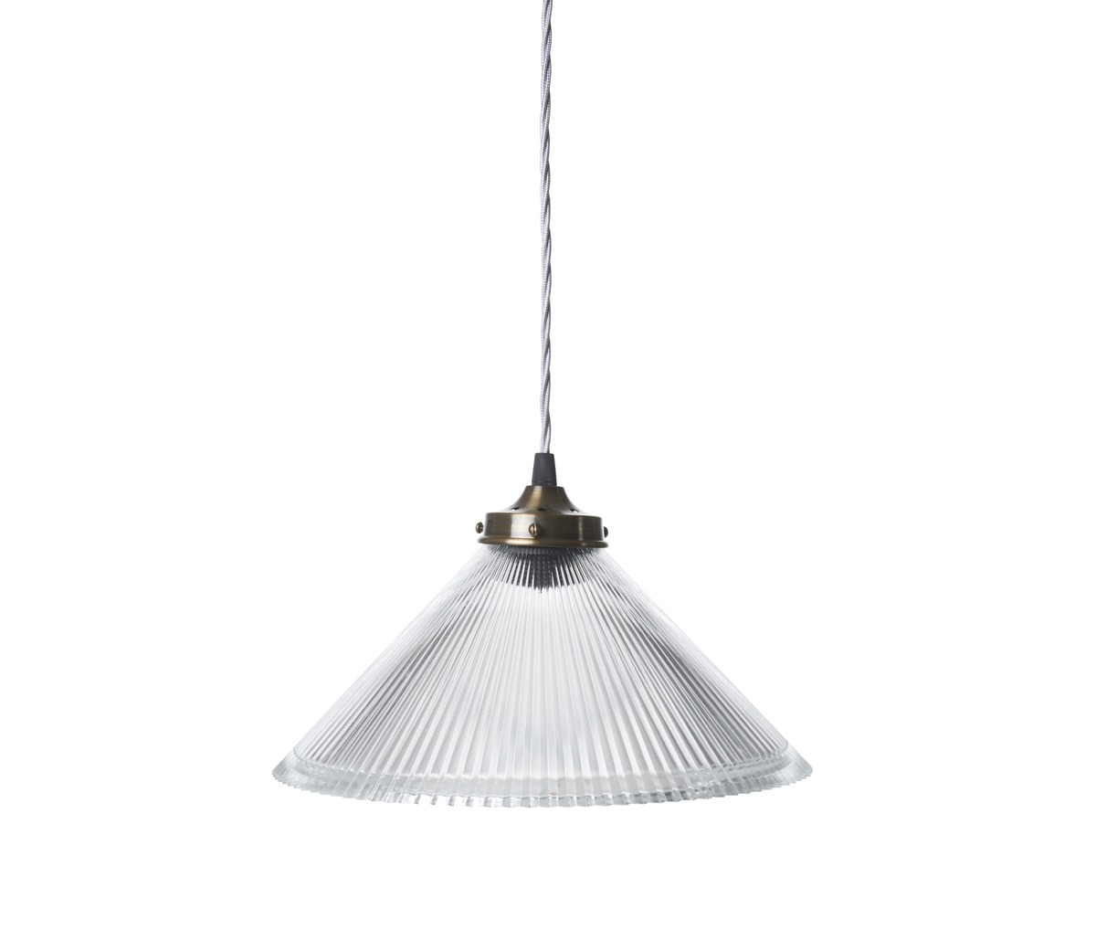 Conical prismatic pendant light the french house conical prismatic pendant light arubaitofo Gallery