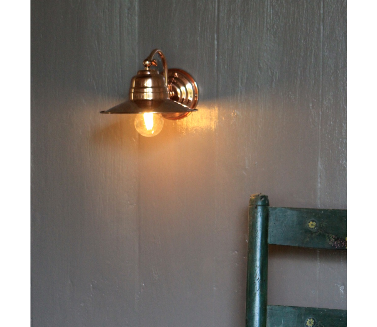 Lighting > Wall > Copper Wall Light