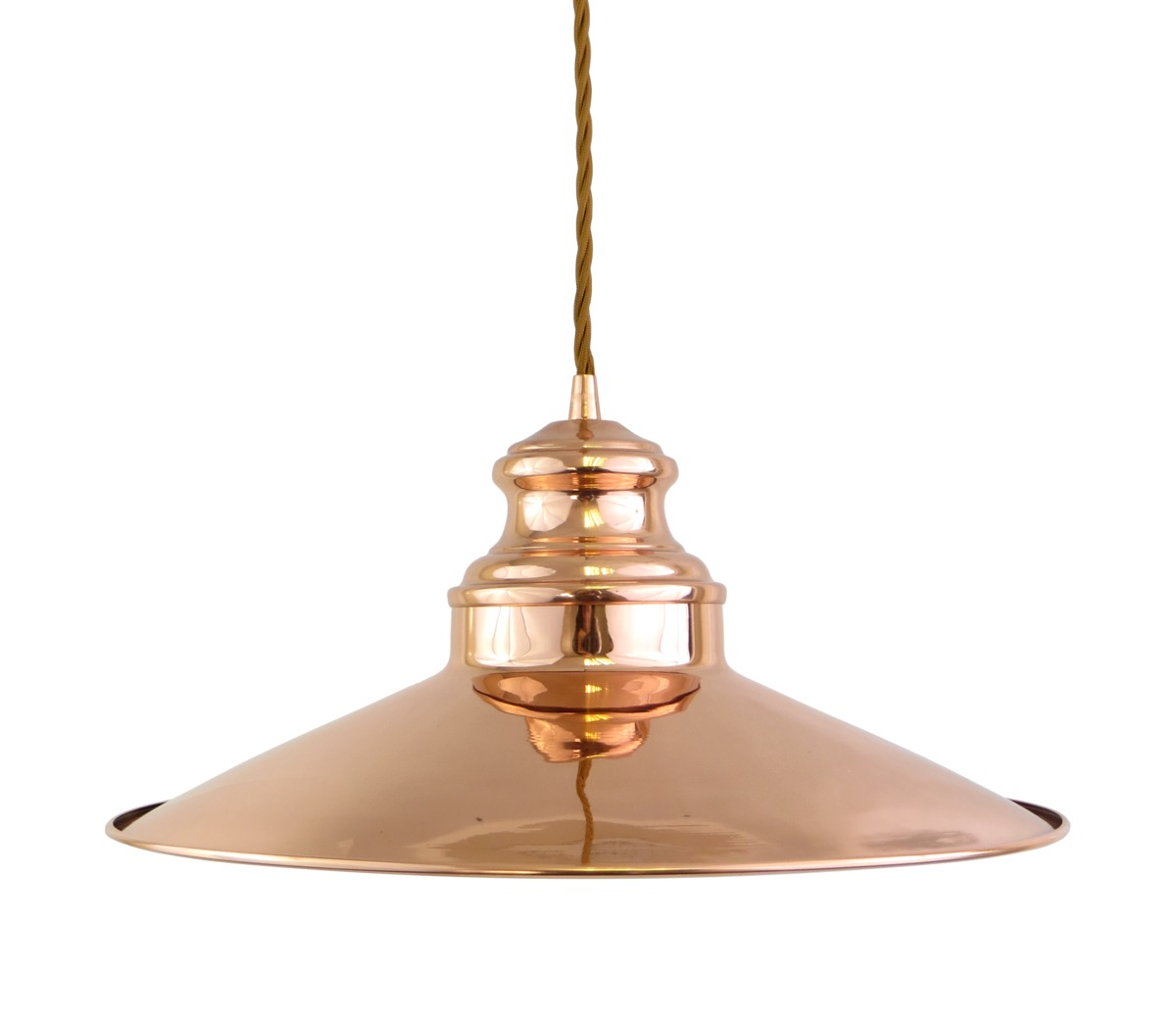 Lighting Pendant Pendant Lights Copper Pendant Light Fabric F