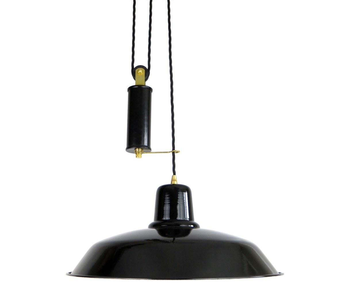 Industrial Rise And Fall Pendant Light: Lighting > Pendant Lights > Old School Rise & Fall Light