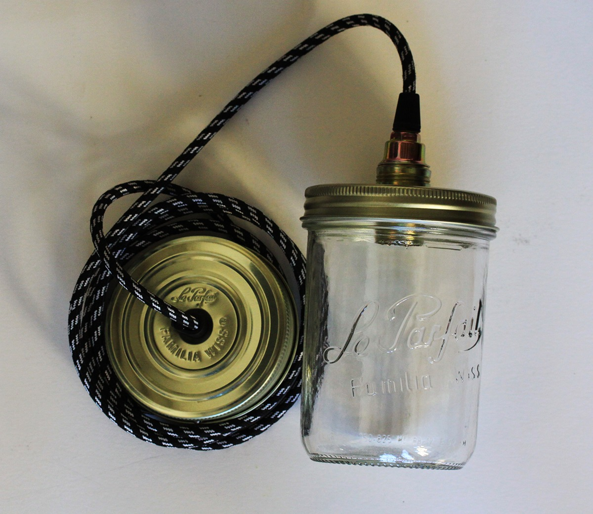 Lighting Gt Pendant Gt Le Parfait Jar Pendant