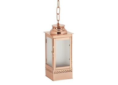 Copper Hanging Lanterns