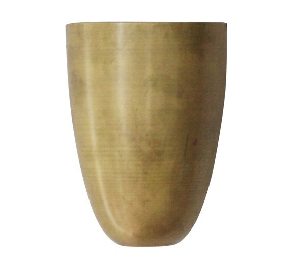 Unpolished Brass Uplighter