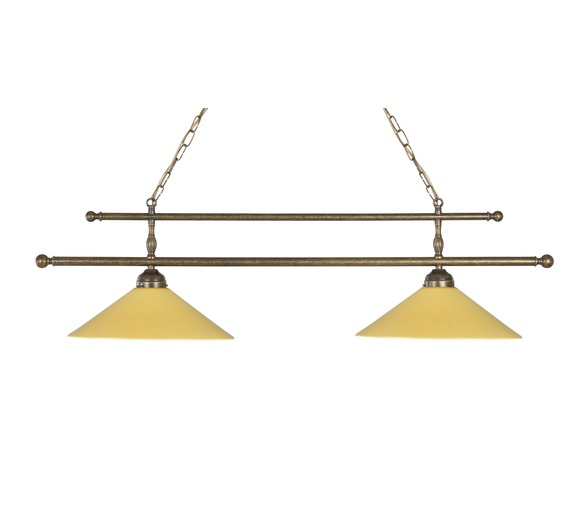 Large Double Billiard Lamp