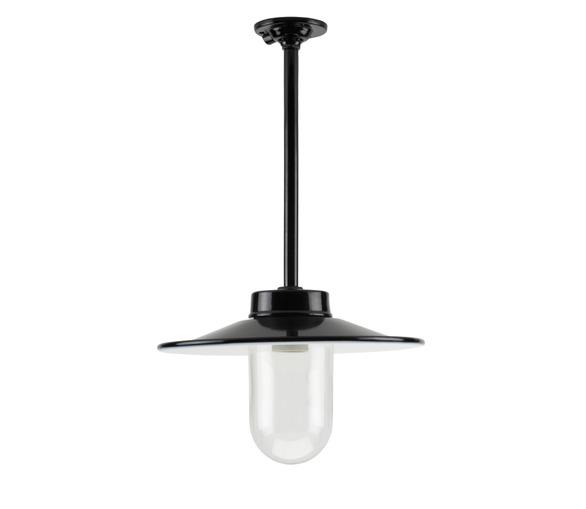 Enamelled Lamp