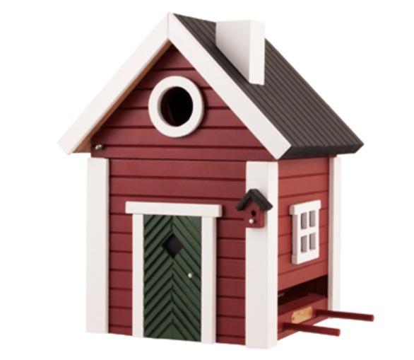 Red Cottage Bird Box