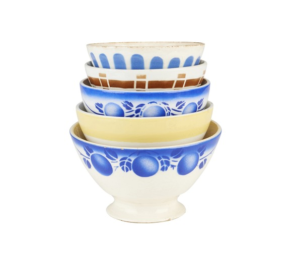 Vintage Breakfast Bowls