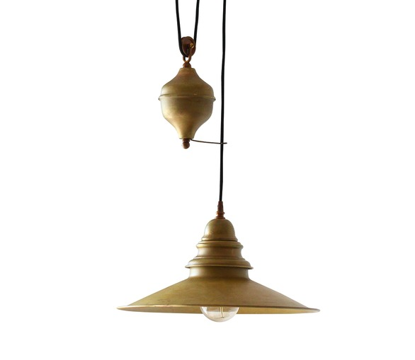 Industrial Rise And Fall Pendant Light: Lighting > Pendant Lights > Rise And Fall Lights