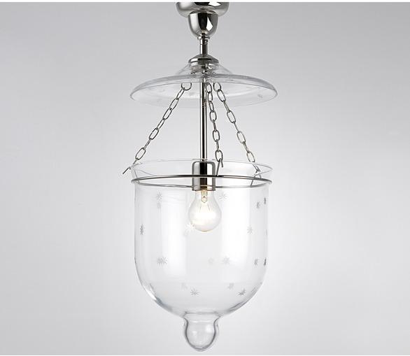 Bell Jar Hanging Lantern