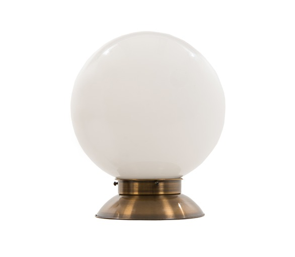 Globe Brass Table Lamp -Large