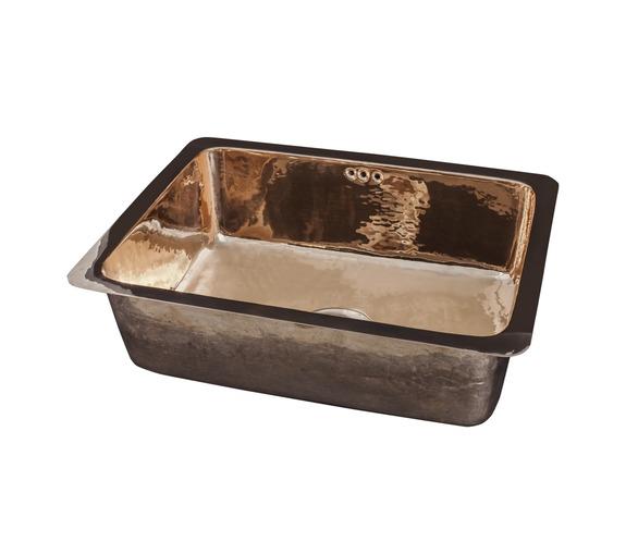 Copper Veg Prep Sink