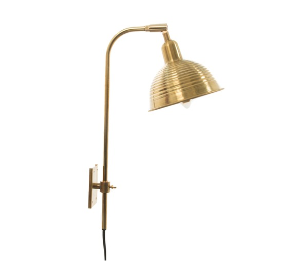 Modernista - Raw Brass Adjustable Wall Light