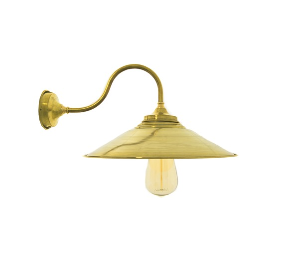 Eclat - Raw Brass Wall Light
