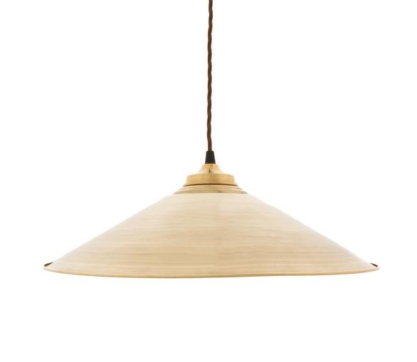 Eclat - Raw Brass Pendant Light