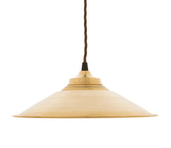 Eclat - Raw Brass Small Pendant Light