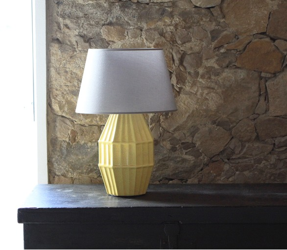 D-Light, ceramic table lamp