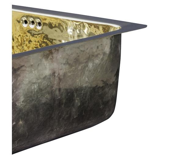 Brass Veg Prep Sink