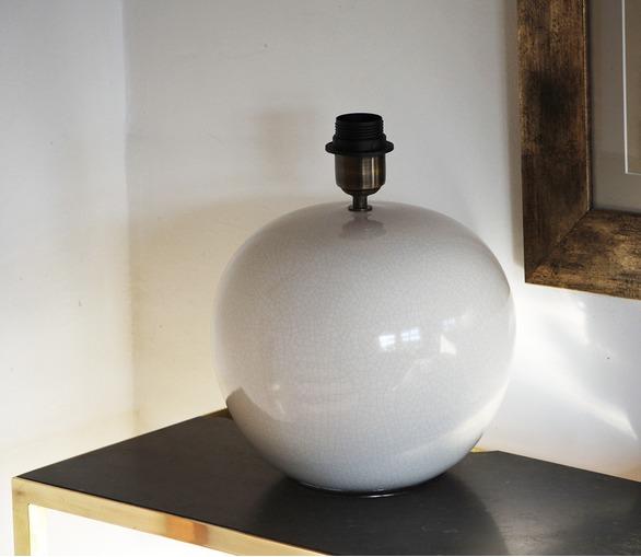 Méribel, ceramic table lamp