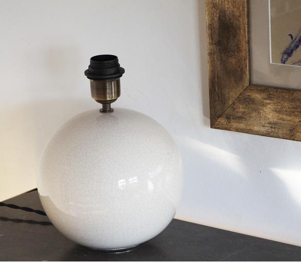 Chamonix, ceramic table lamp, small