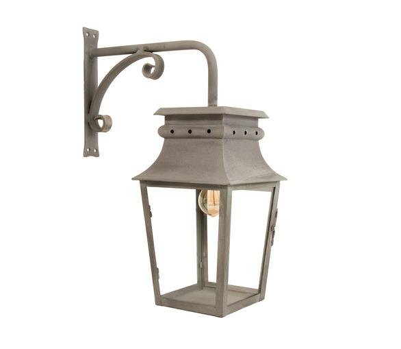 Ussé Hanging Lantern 22x22cm with wall bracket
