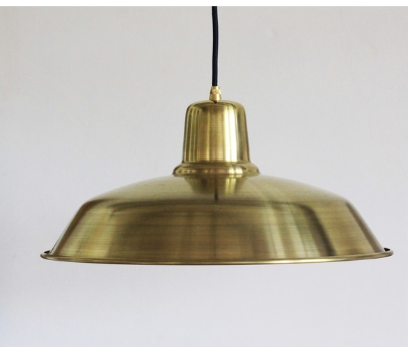 Raw Brass Old School  Light
