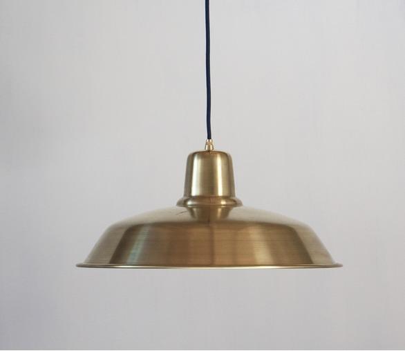 Raw Brass Old School  Light
