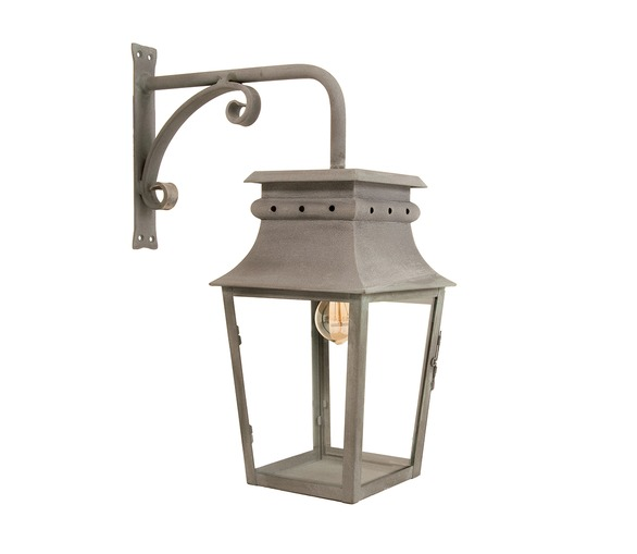 Ussé Hanging Lantern 22x22cm with wall bracket